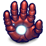 Comics-Ironman-Hand icon