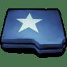 Folder-Blue-Star icon