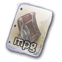 Filetype mpg 2 icon