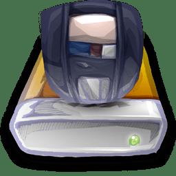 Device Zip Drive icon