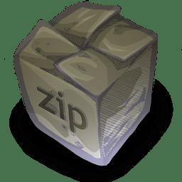 Filetype zip icon