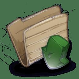 Folder Downloadsplg icon