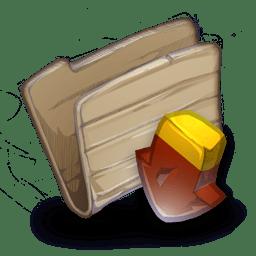 Folder Downloadsr icon
