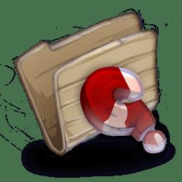 Folder Huh icon