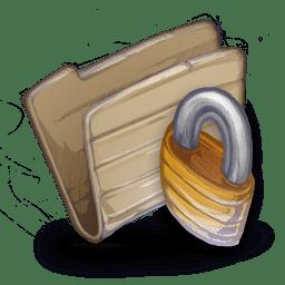 Folder Locked Folder icon