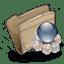Folder-Folder-Garbage-Globe icon