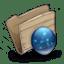 Folder-iDisk-Folder icon