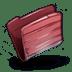 Folder-Red icon