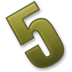 Number-5 icon