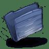 Folder-Dark-Blue icon