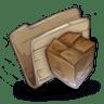 Folder-Package-Folder icon