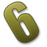 Number-6 icon