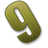 Number-9 icon