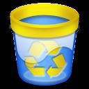 Papelera vacia recycle icon
