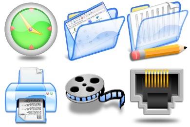 Azullustre Icons