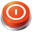 Perspective Button Shutdown icon