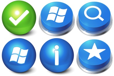 I Like Buttons 3a Icons