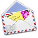 AirMail Stamp Photo icon