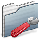 Developer Folder graphite icon