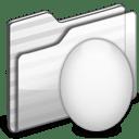 Egg Folder white icon
