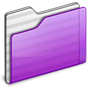Folder purple icon