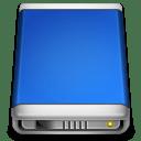 Internal Drive blue icon