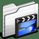 Movies Folder white icon