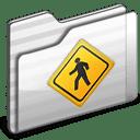 Public Folder white icon