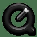 QuickTimePlayer Black icon