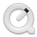 QuickTimePlayer White icon