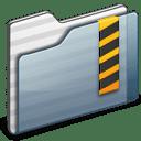Security Folder graphite icon