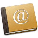 Address Book Oldschool icon