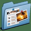 Blue Blog icon