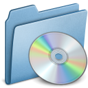 Blue CD icon