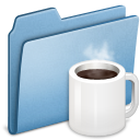 Blue Coffee icon