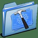 Blue Developer alt icon