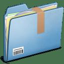 Blue Download alt icon