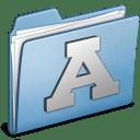 Blue Font icon
