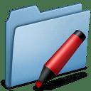 Blue Marker icon