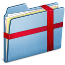 Blue Package icon