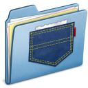 Blue Pocket icon