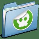 Blue Sticker icon