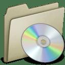 Lightbrown CD icon