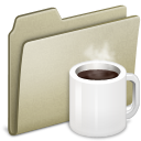 Lightbrown Coffee icon
