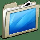Lightbrown Desktop icon