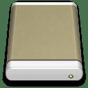 Lightbrown External Drive icon
