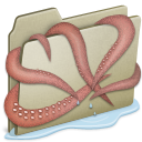 Lightbrown Kraken icon