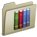 Lightbrown Library icon