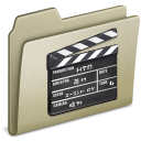 Lightbrown Movies old icon