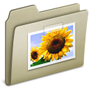 Lightbrown Pictures icon